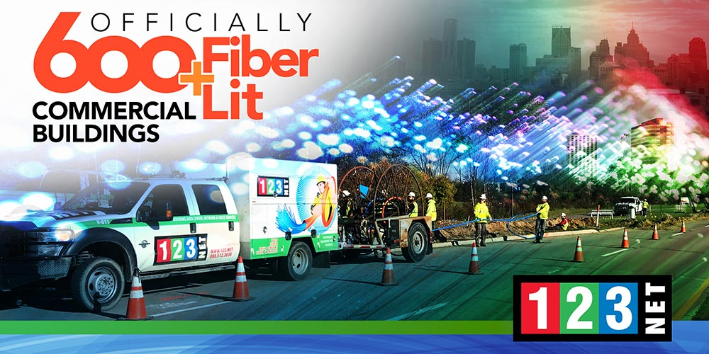 123Net Lights Over 600 Buildings With Fiber