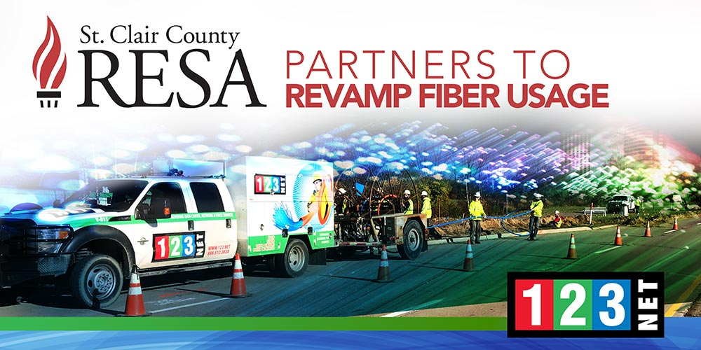 St. Clair County RESA Partners with 123Net to Revamp Fiber Usage
