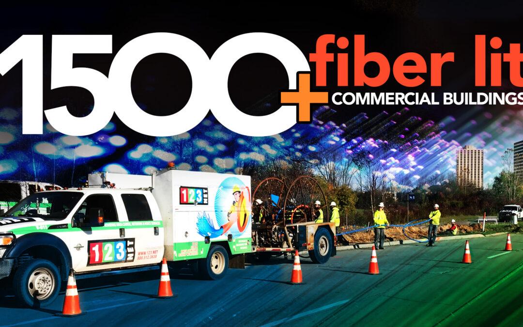 123NET 1500 Fiber Lit Commercial Buildings