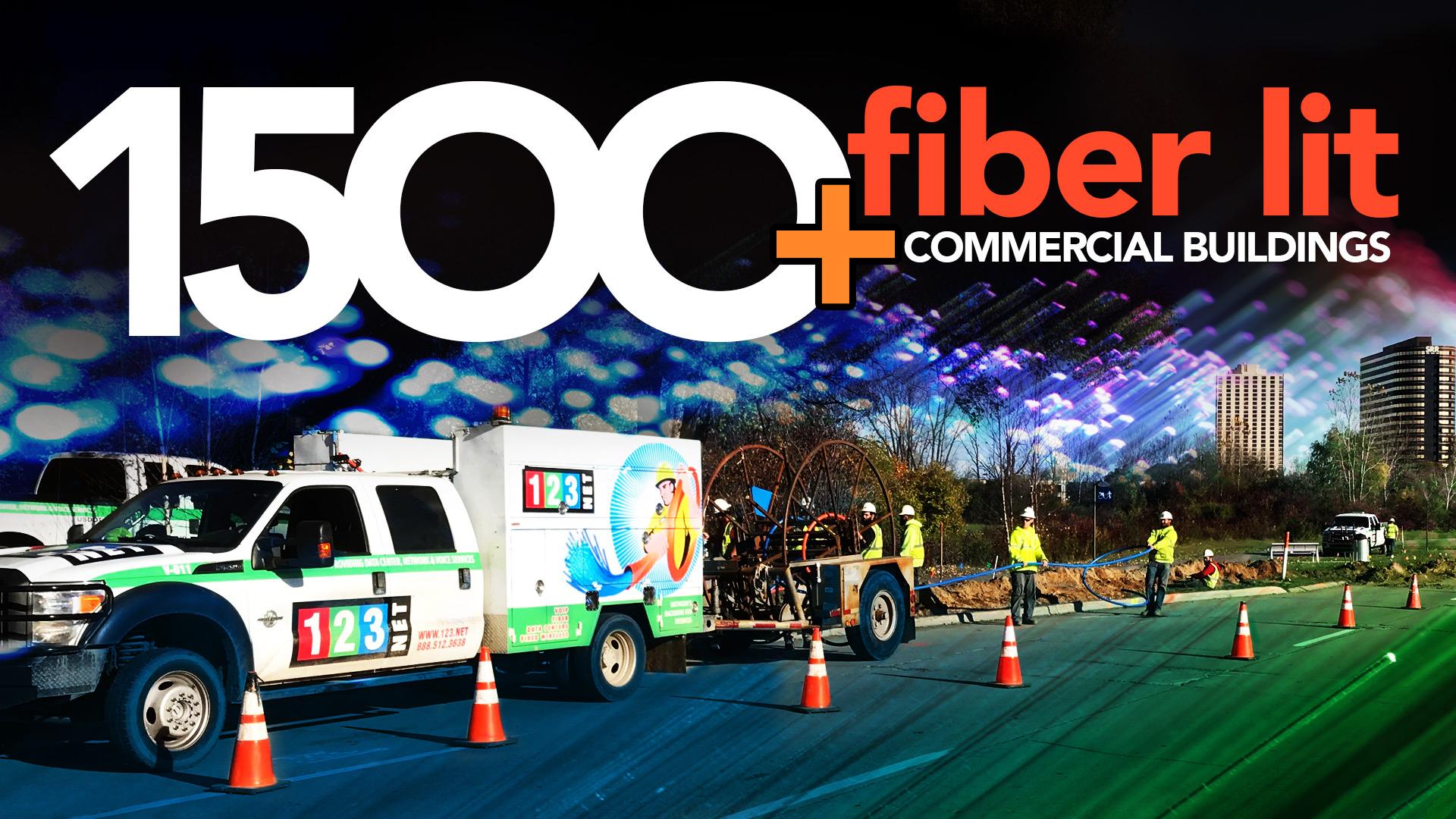 123NET Reaches the 1,500th Fiber Lit Commercial Building Milestone