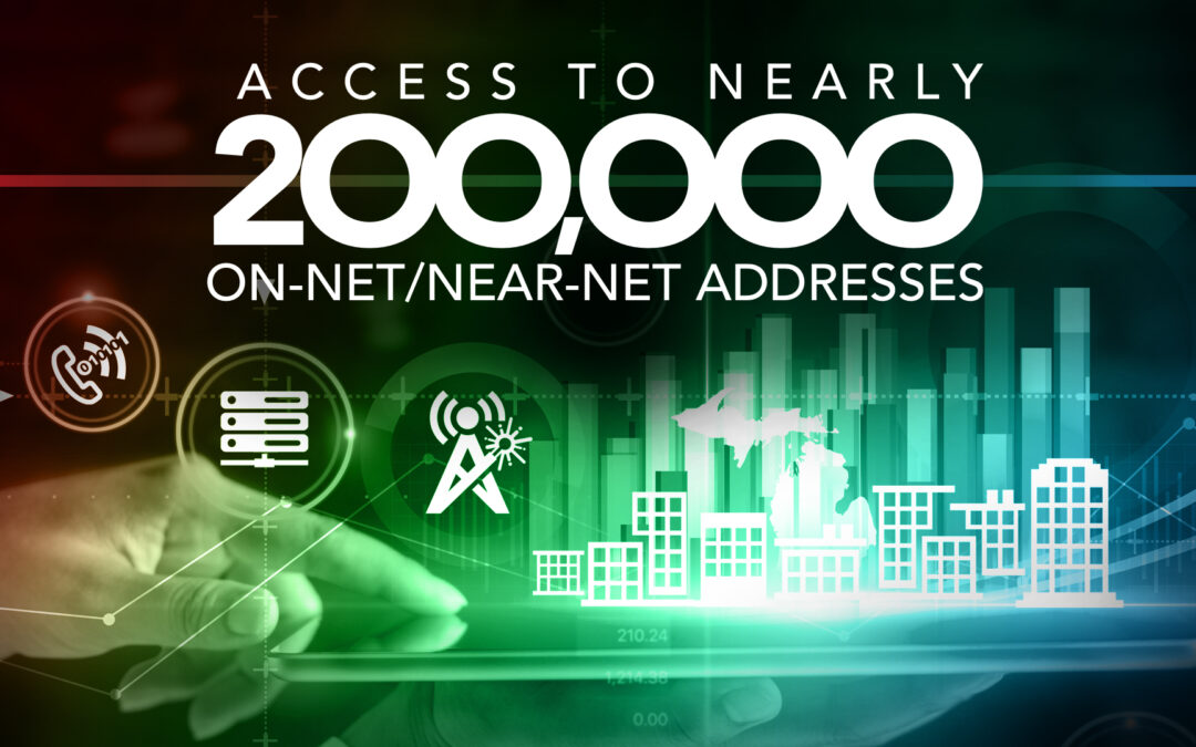 123NET: Access to Nearly 200,000 On-Net & Near-Net Addresses