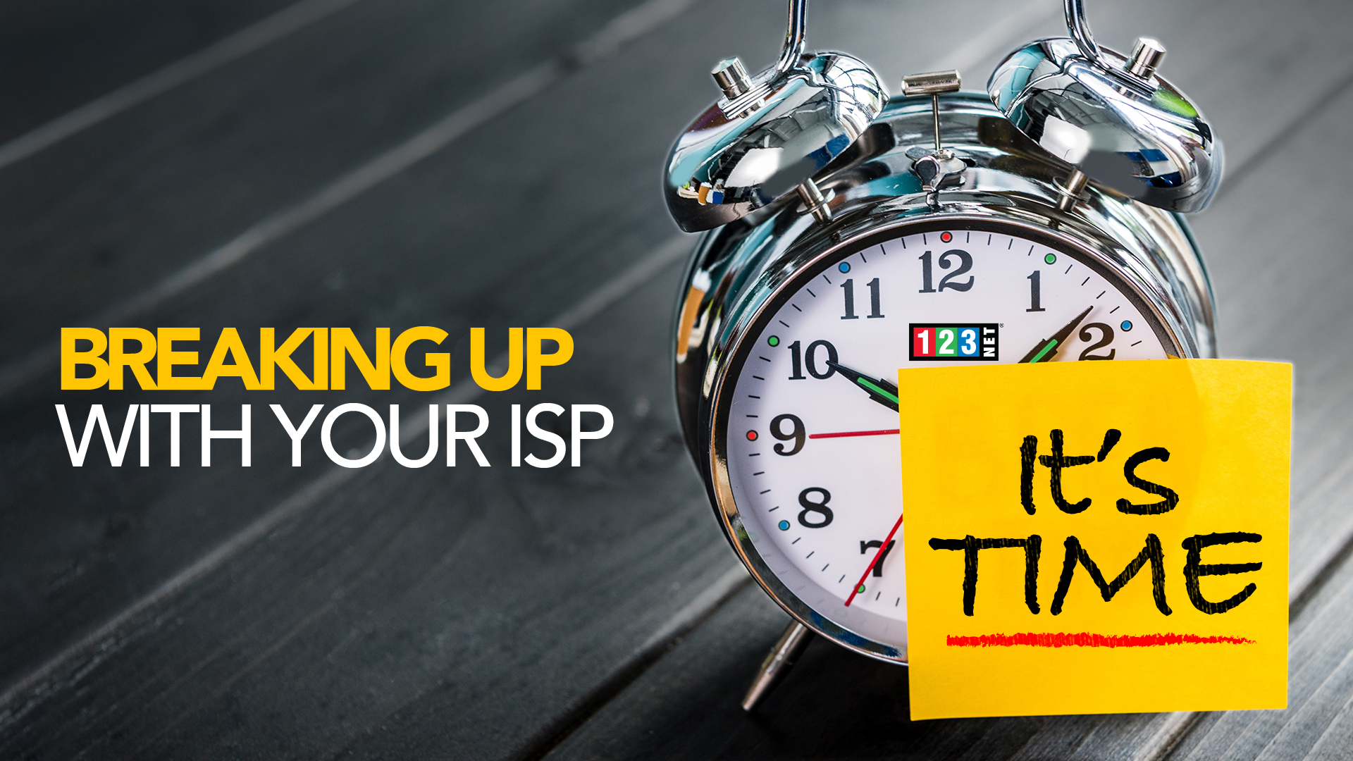 Breaking Up with Your Internet Service Provider (ISP)