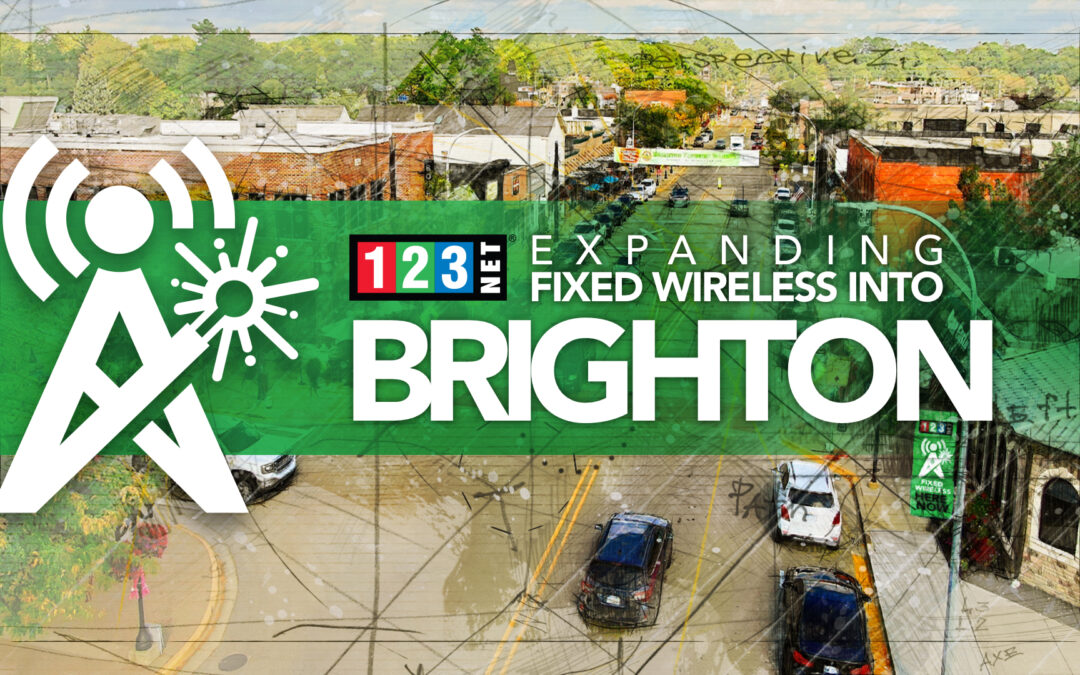 123NET Expands Fixed Wireless Coverage to Brighton