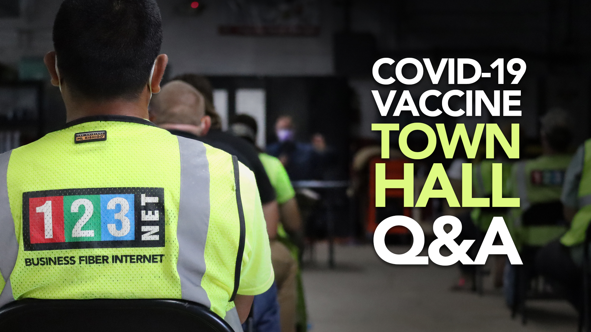 123NET Hosts Infectious Disease Specialist for Vaccine Town Hall Q&A