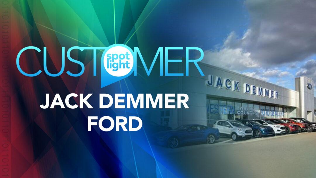 123NET Customer Spotlight: Jack Demmer Ford