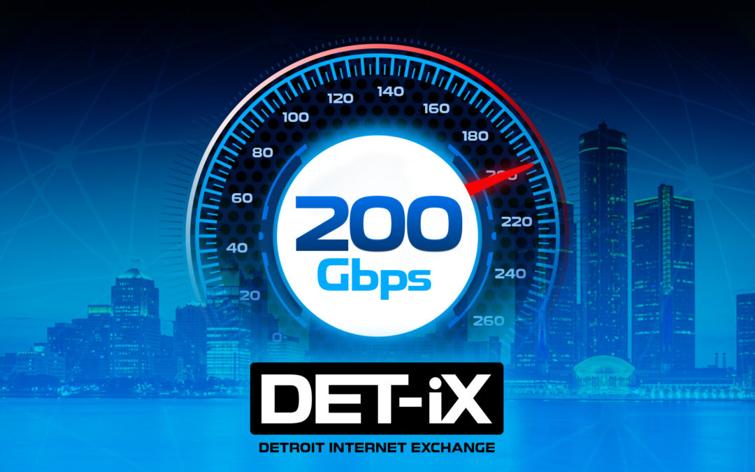 DET-iX Surpasses 200 Gbps