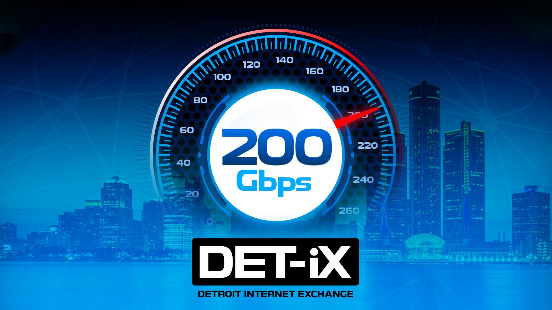 DET-iX Reaches New Heights – 200Gbps Milestone