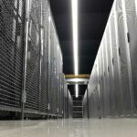 Michigan colocation individually locked full and half cabinets