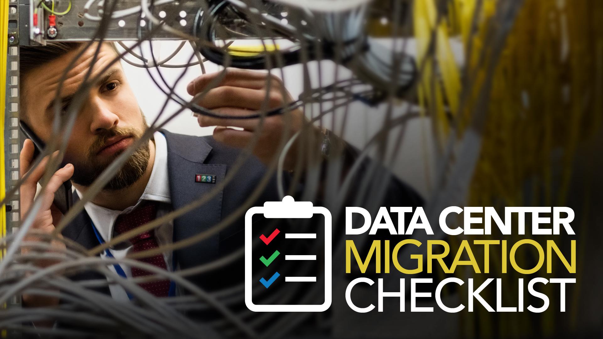 123NET Data Center Migration Checklist