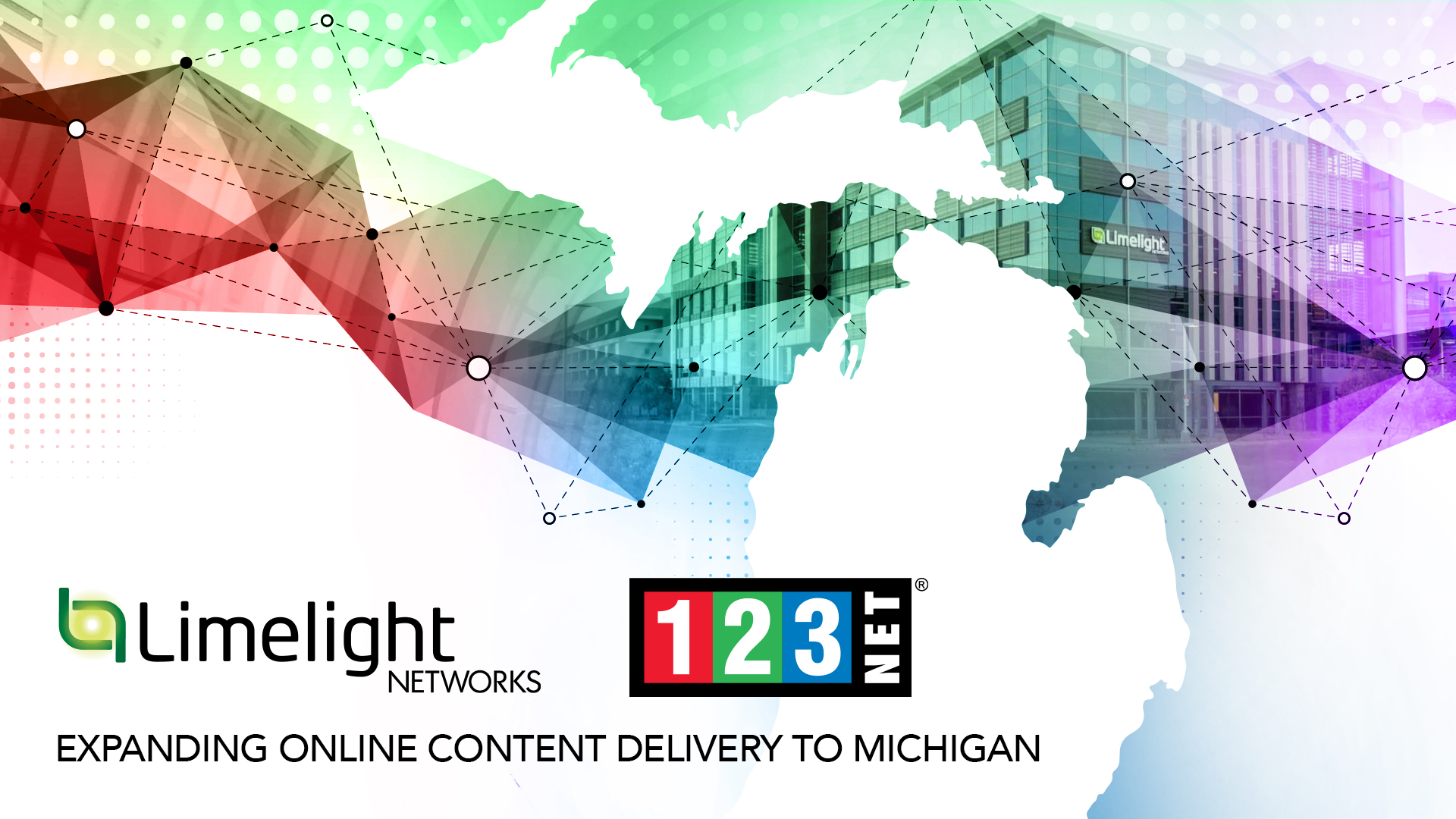 Limelight Networks Colocates with 123NET