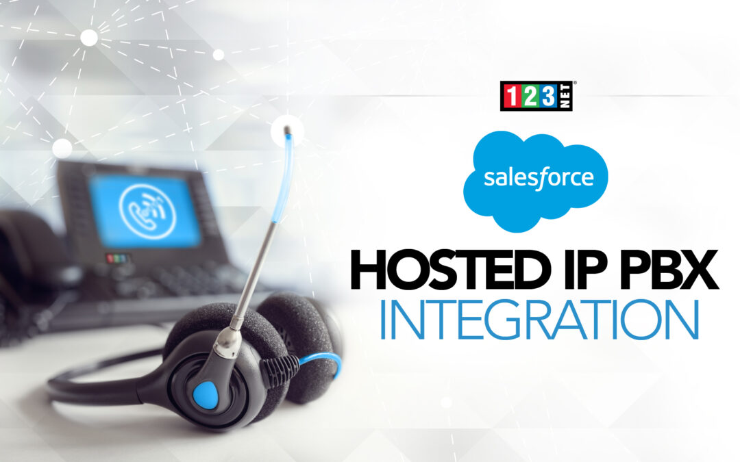 123NET Voice Services Reveal Salesforce Hosted IP PBX Integration