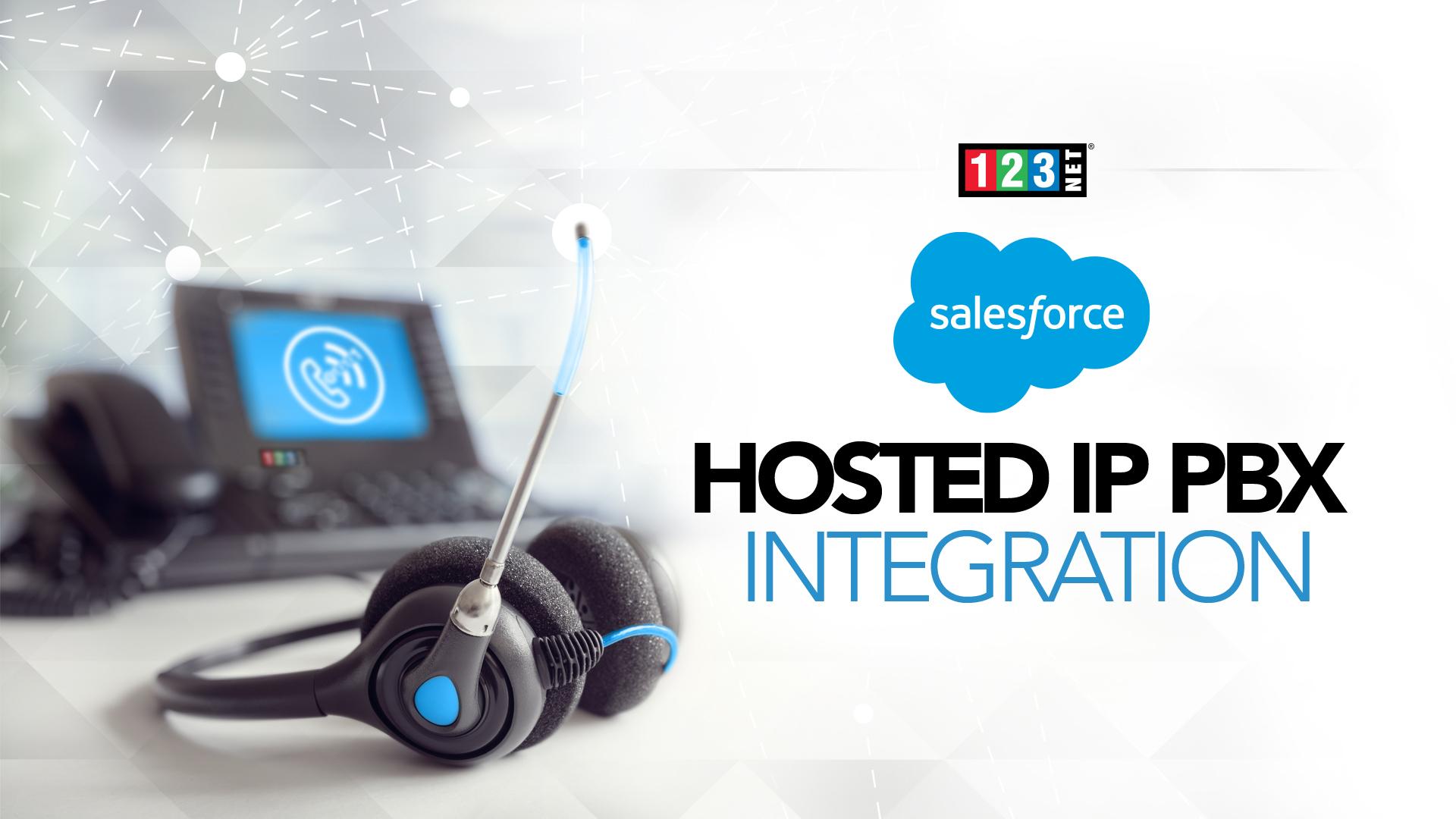 123NET Voice Services Reveal Salesforce Hosted IP PBX Integration