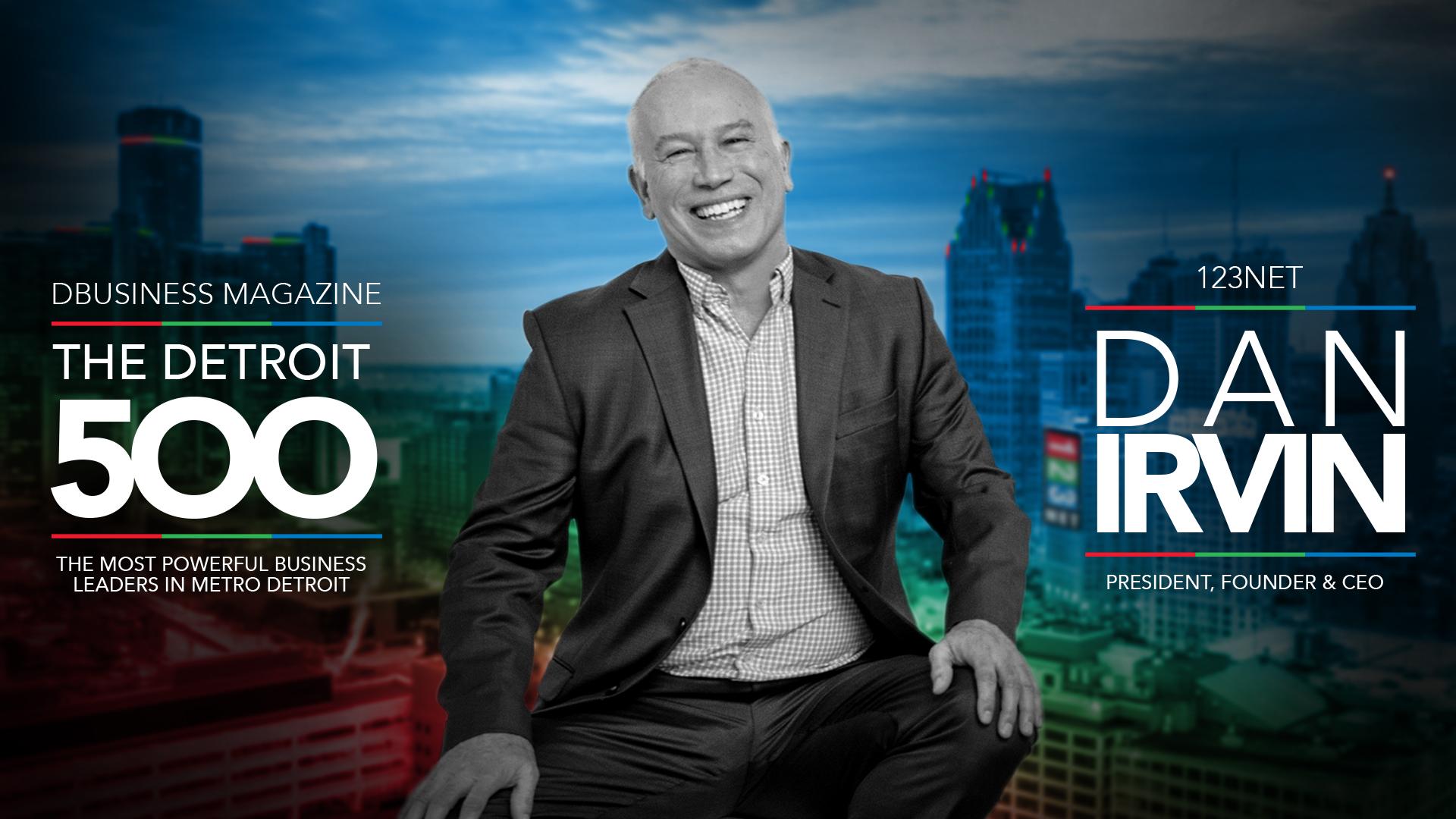 Dan Irvin Named to Detroit 500 List
