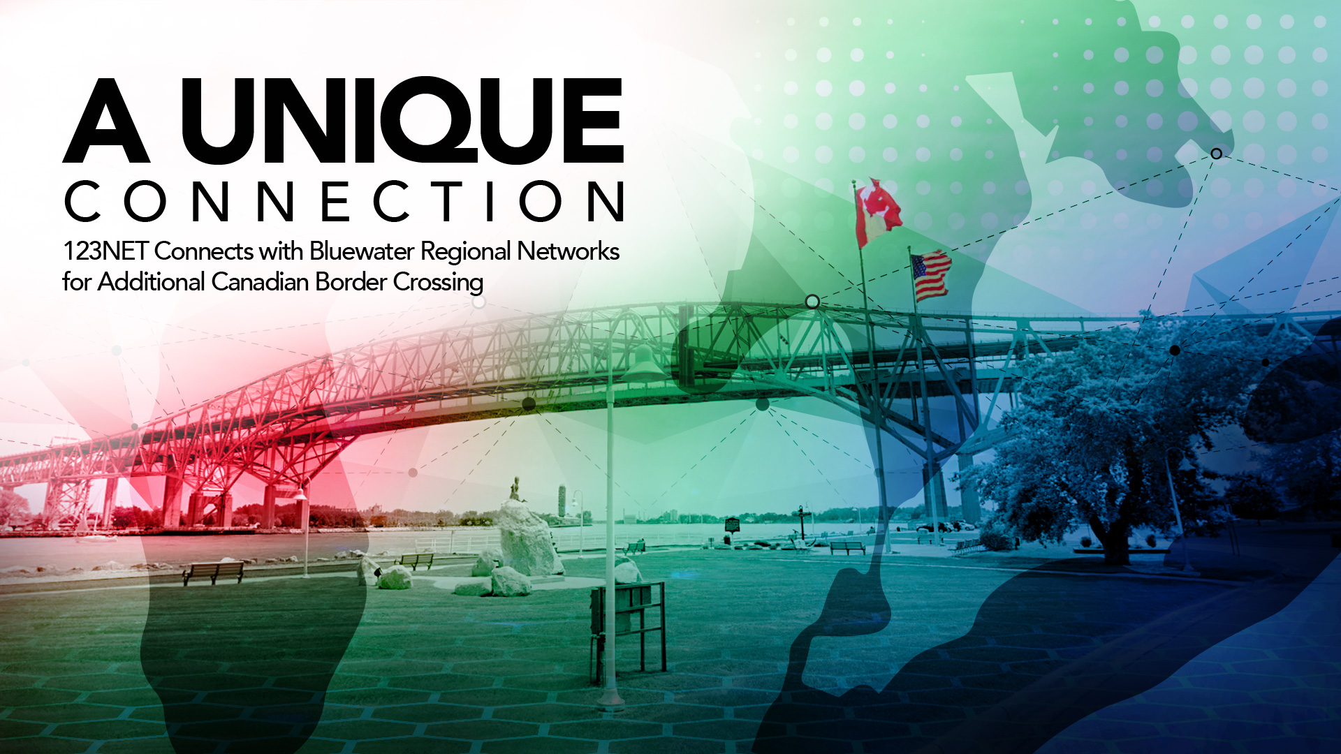123NET Connects with Bluewater for Additional Canadian Border Crossing